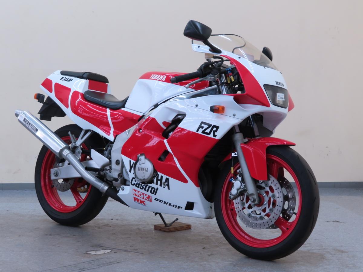 「特別出品!! ヤマハ FZR250R 【動画有】ローン可 3LN 250cc ダブルディスク マフラー改 フルカウル FZR YAMAHA 売り切り」の画像1
