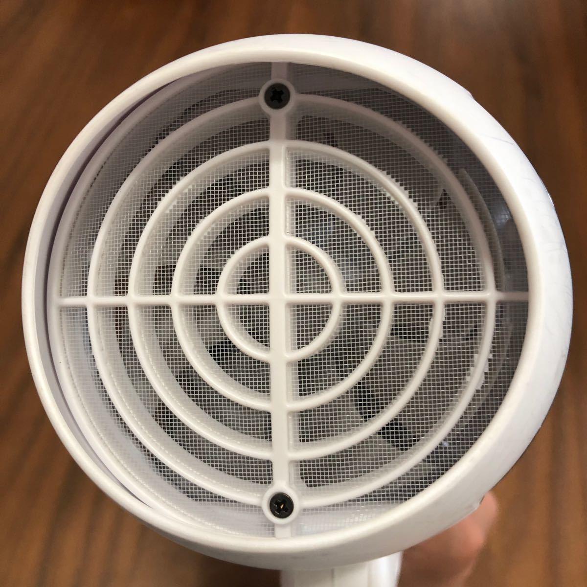 コイズミ ヘアードライヤー(ホワイト)MONSTERダブルファンドライヤー マイナスイオン KHD-W730-Wスカルプ機能付き