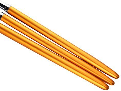 Kingsie ジェルネイルブラシ 3本セット ラウンド UV ジェルブラシ ネイルアート筆 オーバルブラシ ジェルネイル マニ_画像4