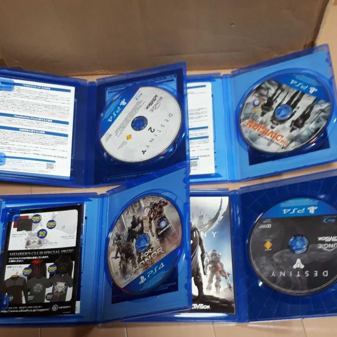 【動作確認済み】PlayStation4ソフト4本セット