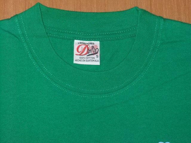 古着 プリントTシャツ グリーンS_画像3
