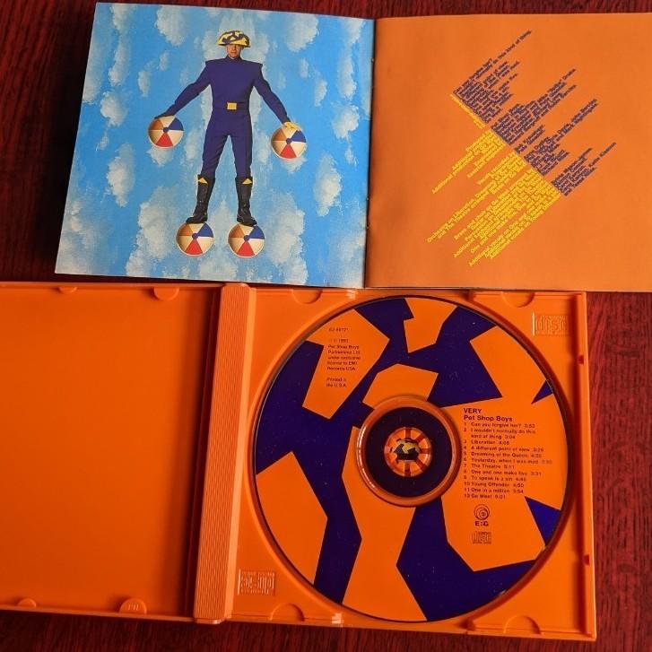 ペットショップボーイズCDアルバム