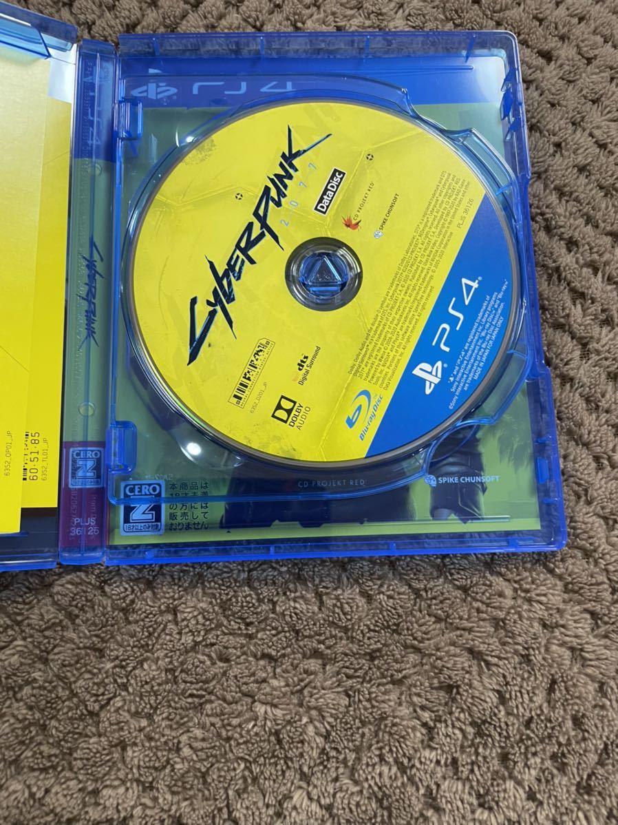 送料無料! サイバーパンク2077 PS4 ソフト カセット