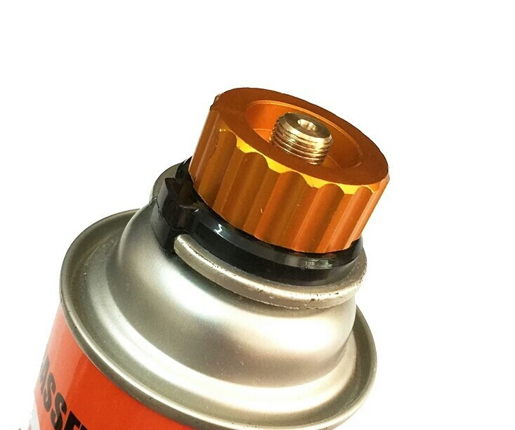 ガス アダプター  2個 ガスバーナー ガスランタン ガスコンロ  漏テスト済