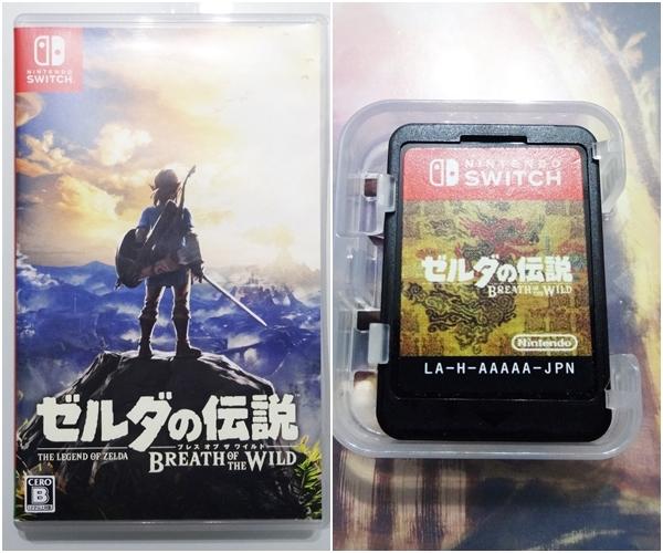 匿名 送料無料 不具合なし ゼルダの伝説 ブレス オブ ザ ワイルド BREATH OF THE WILD スイッチ Nintendo Switch ニンテンドースイッチ_画像1