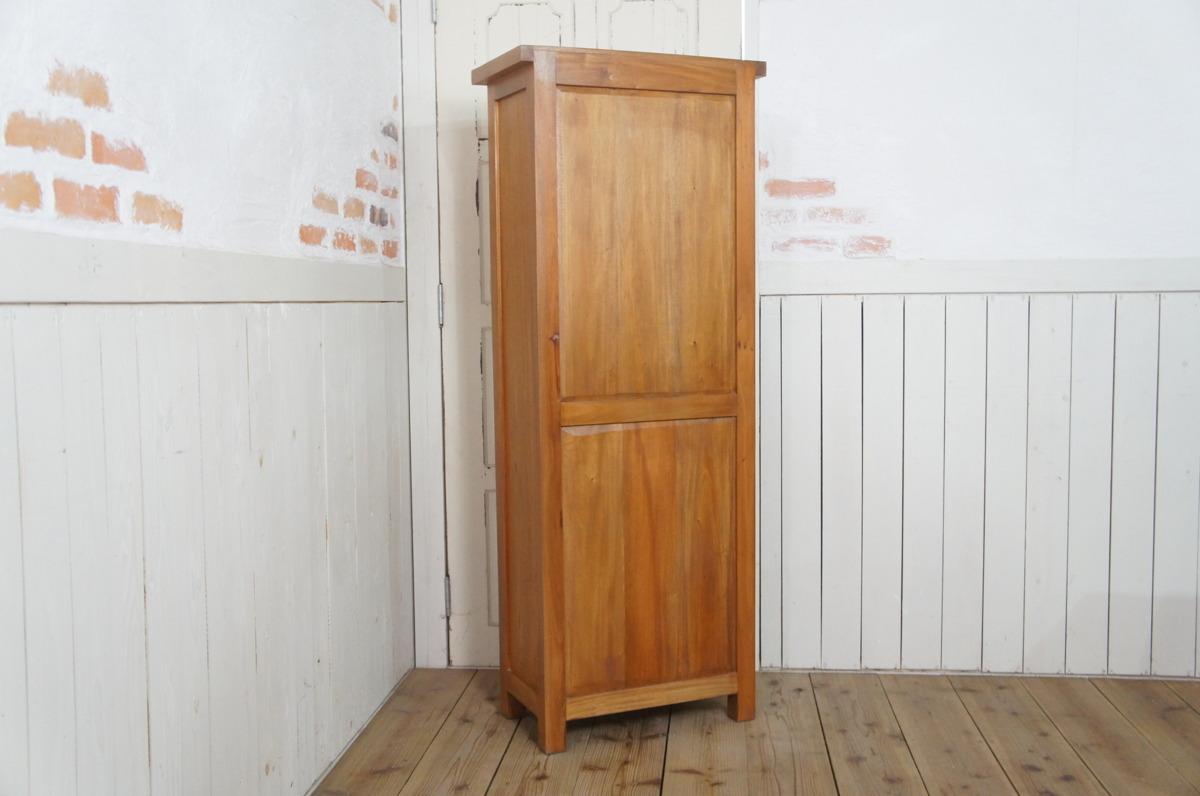 マホガニー無垢材 シェルフラック 収納棚 本棚 4段棚 ナチュラル_画像6