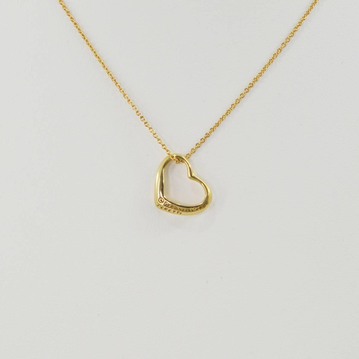 S 1円スタート Tiffany&Co. ティファニー エルサ・ペレッティ オープンハート ペンダント