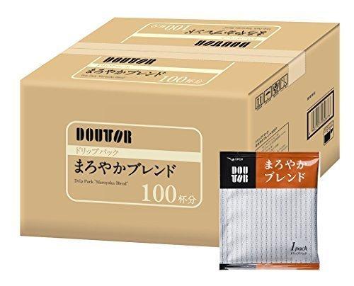 新品100PX1箱 ドトールコーヒー ドリップパック まろやかブレンド100PN775_画像1