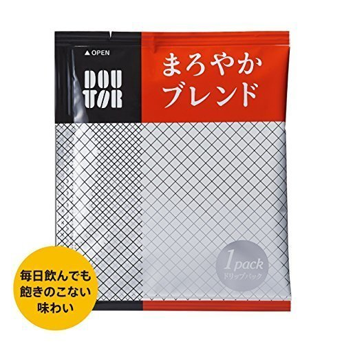 新品100PX1箱 ドトールコーヒー ドリップパック まろやかブレンド100PN775_画像2