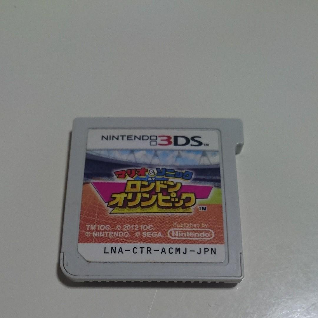 マリオ&ソニックATリオオリンピック 3DSソフト