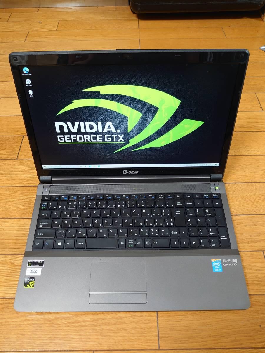 Sản phẩm ツクモ G-GEAR N1560J(CLEVO W355ST)Core i7-4700MQ/8GB/SSD  256GB+HDD750GB/GTX765M(2GB)