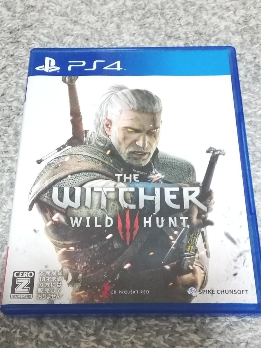 PS4 ダークソウル2 ゴーストオブツシマ ウィッチャー3 3点セット!!