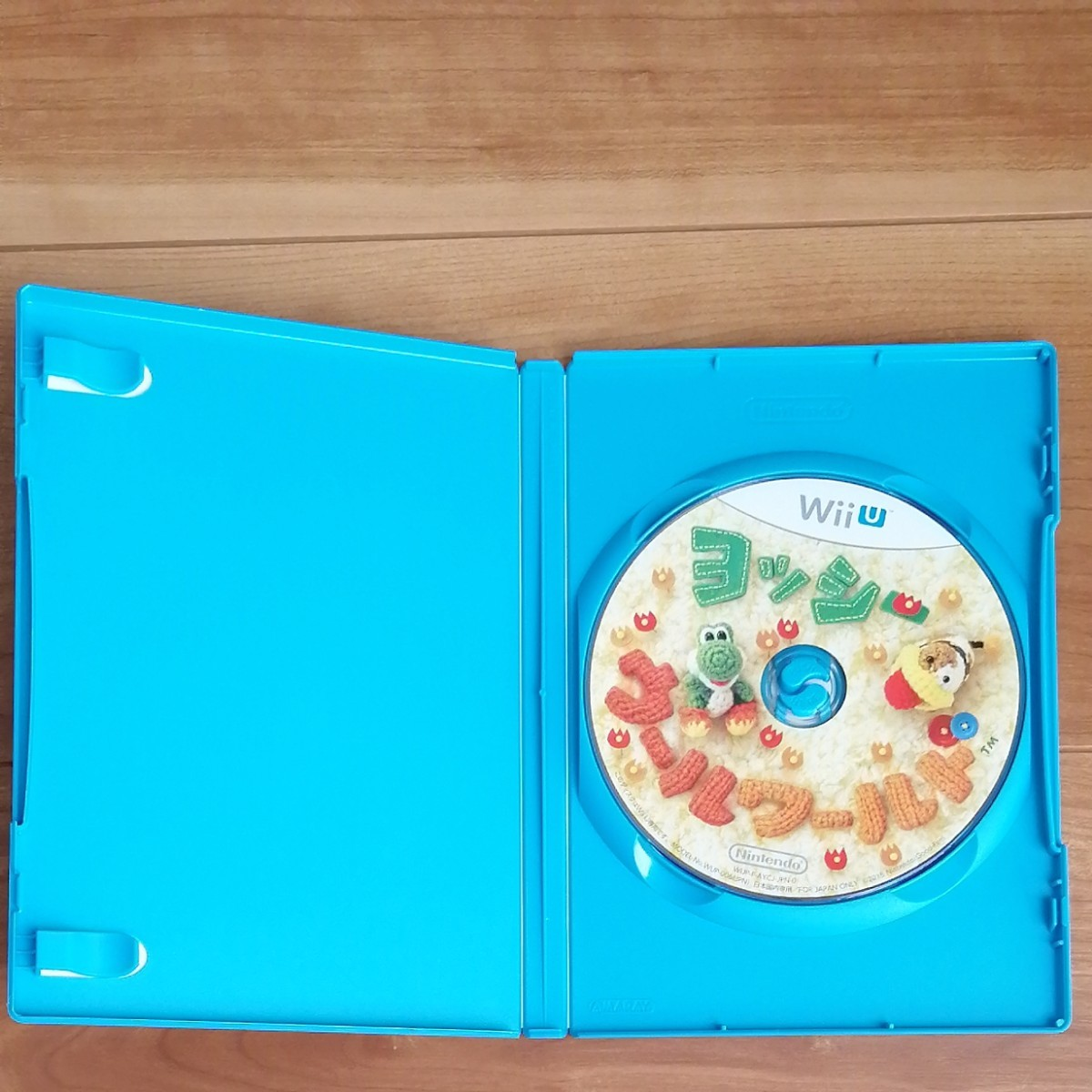 WiiUソフト ヨッシーウールワールド
