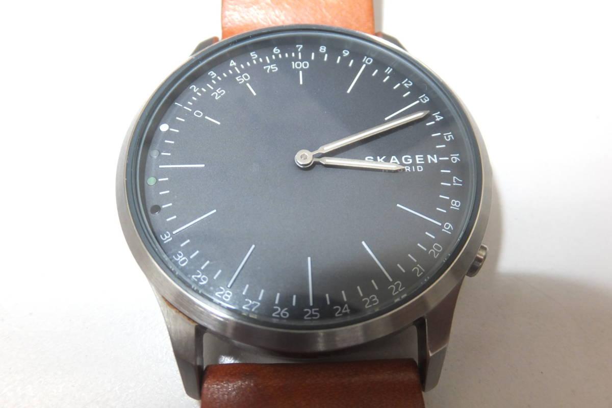 36214-180   SKAGEN 腕時計 NDW3B ハイブリットスマートウォッチ動作品 全て純正風防傷無し本体軽い線傷送料180円~同梱不可