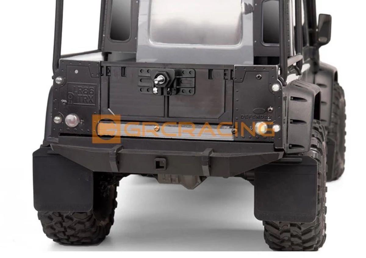 スペアタイヤ タイヤブラケット 1/10 クローラー CR-01 RC 1/10  アキシャル トラクサス