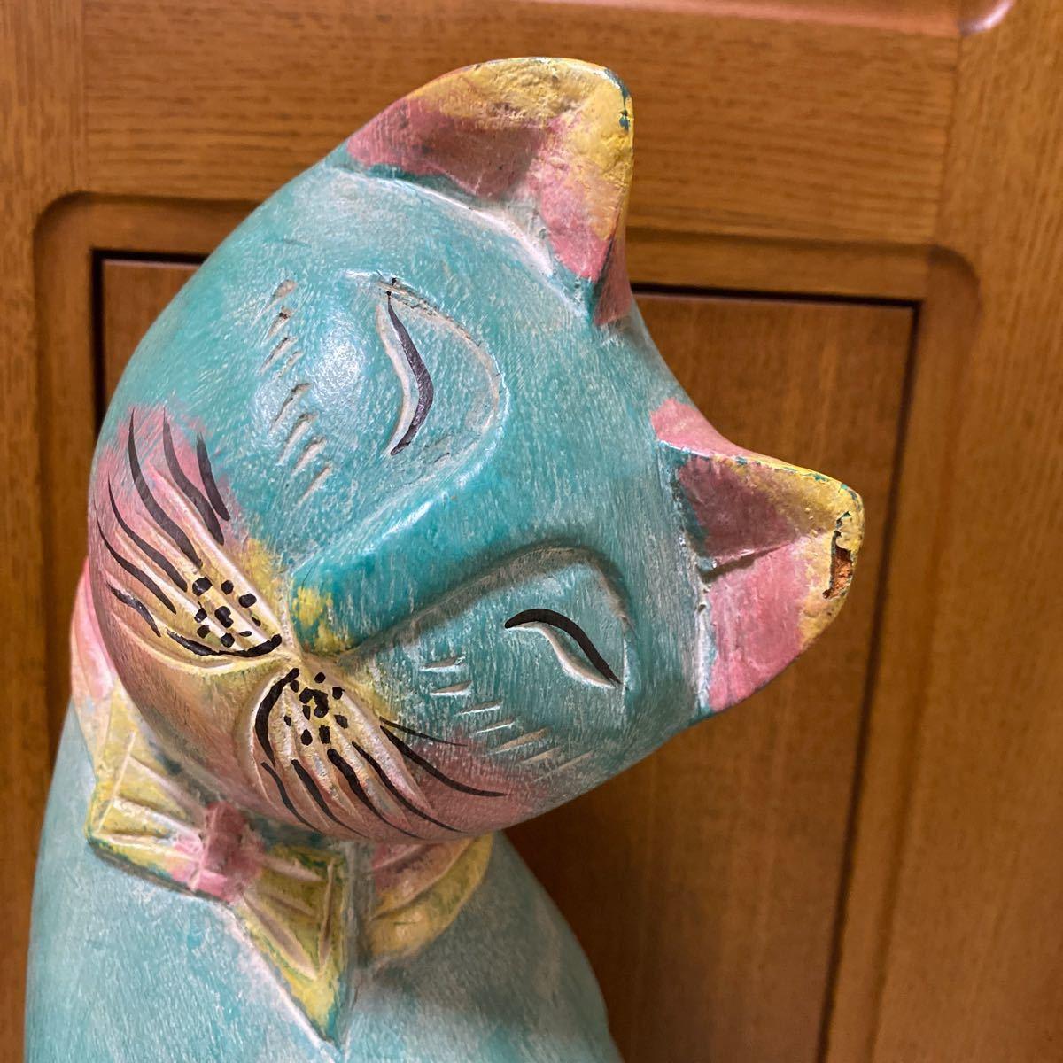 猫の置物 ネコ インテリア雑貨