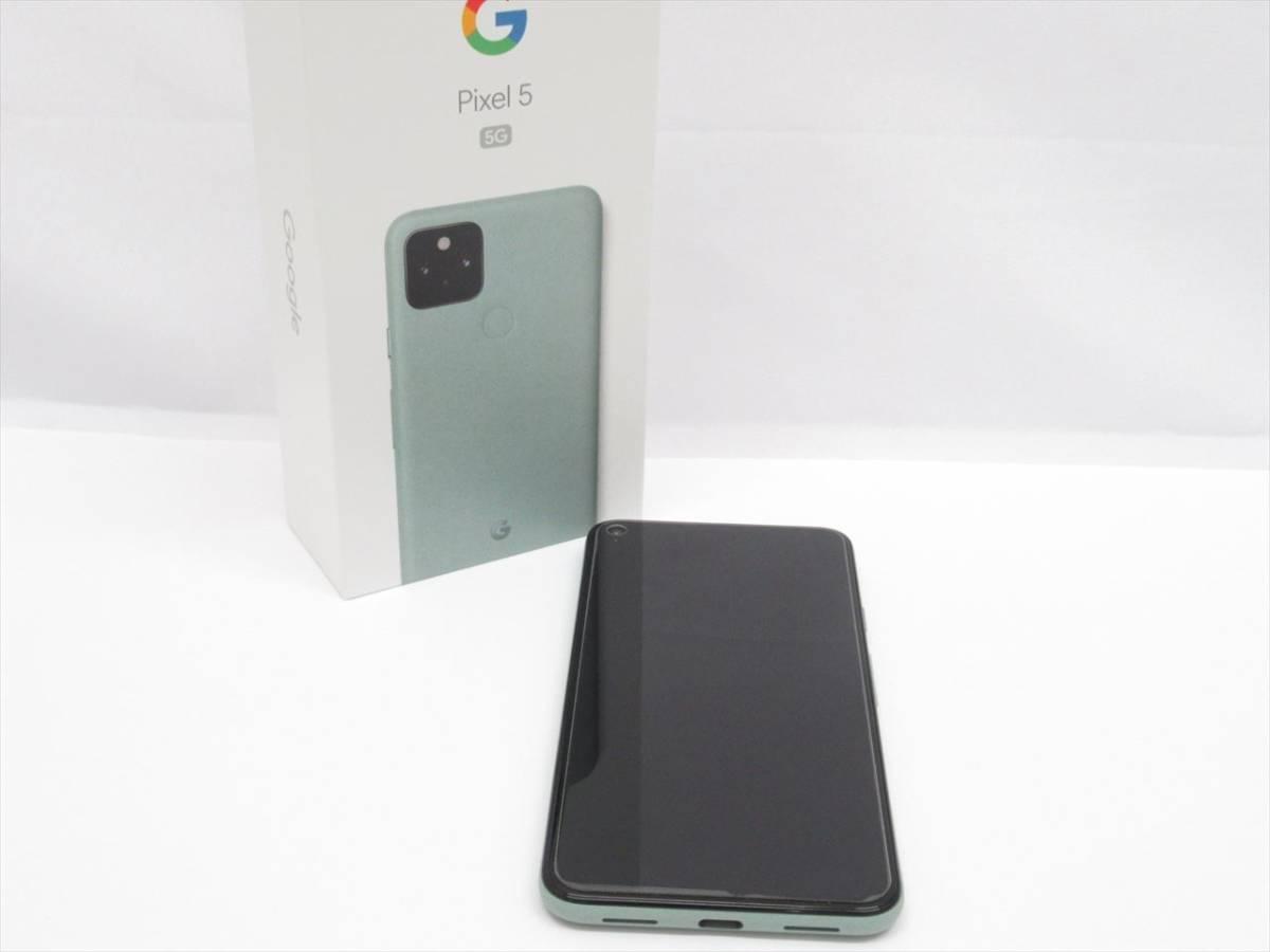 SIMフリー◆Google Pixel 5 5G 128GB G5NZ6 美品