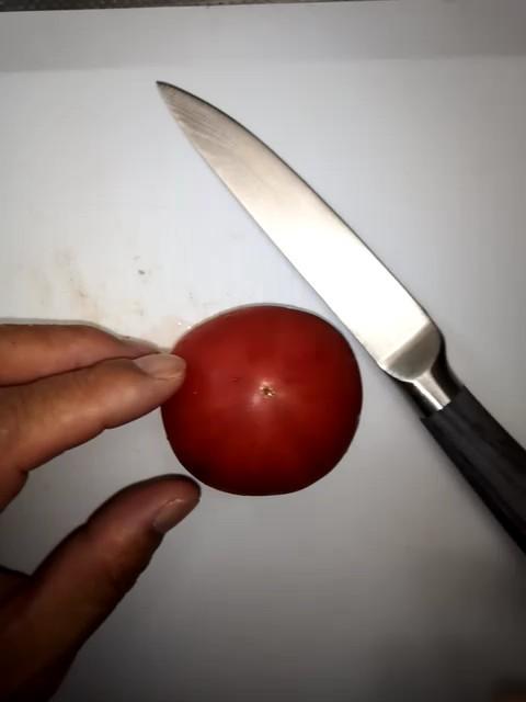 シェフナイフとペティナイフの包丁セット 新品未使用
