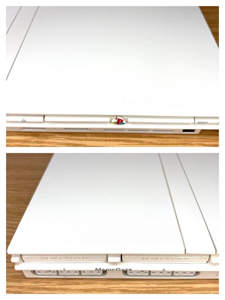 ★動作確認済み★ PS2 薄型 SCPH 77000 ホワイト プレイステーション2 プレステ2  SONY メモリーカード