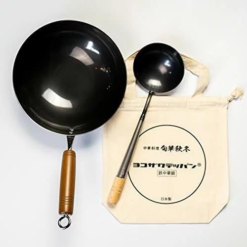 【新品未使用】ヨコザワテッパン おやじキャンプ飯 中華鍋