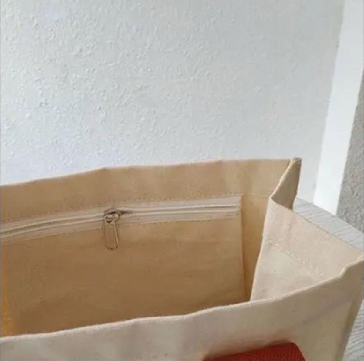 ロゴ入り 英字 ハンドバッグ トートバッグ エコバッグ  キャンバス 韓国 トート トートバッグ キャンパス レッド