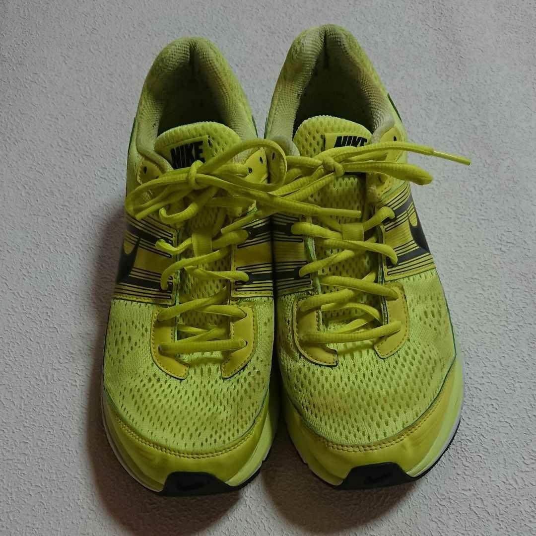 ナイキ ズーム ペガサス29 25.5cm NIKE PEGASUS29 黄緑