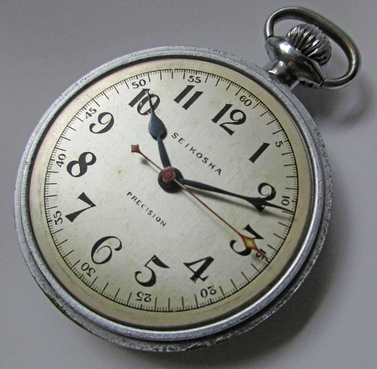 SEIKOSHA 精工舎 中三針 鉄道時計 飛行時計 鉄道局 国鉄 オーバーホール済_画像2