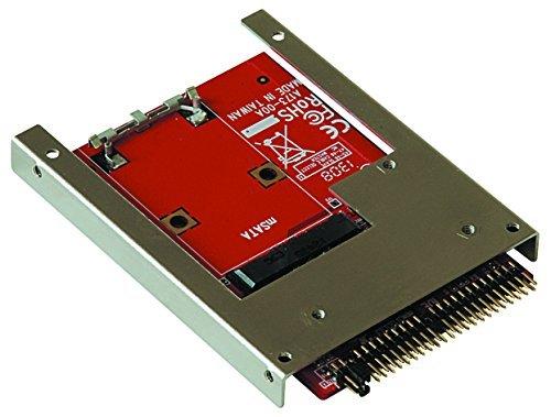 【複数可】玄人志向 セレクトシリーズ mSATA SSD IDE変換アダプター KRHK-MSATA/I9_画像3