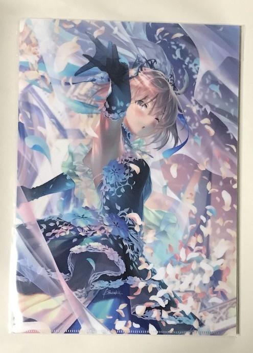 FGO 沖田総司 A4クリアファイル 光崎 GH.K ウェディング ドレス Fate/Grand Order メロンブックス エアコミケ_画像1