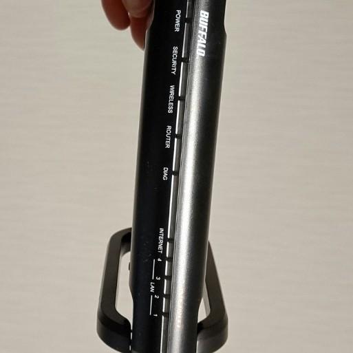 バッファロー BUFFALO WZR2-G300N 無線LANルーター 高速300Mbps