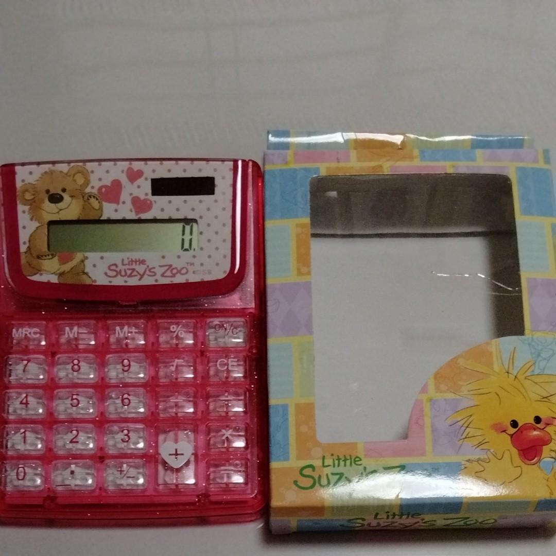 キャラクター電卓(くまのプーさん、Little Suzy's Zoo)