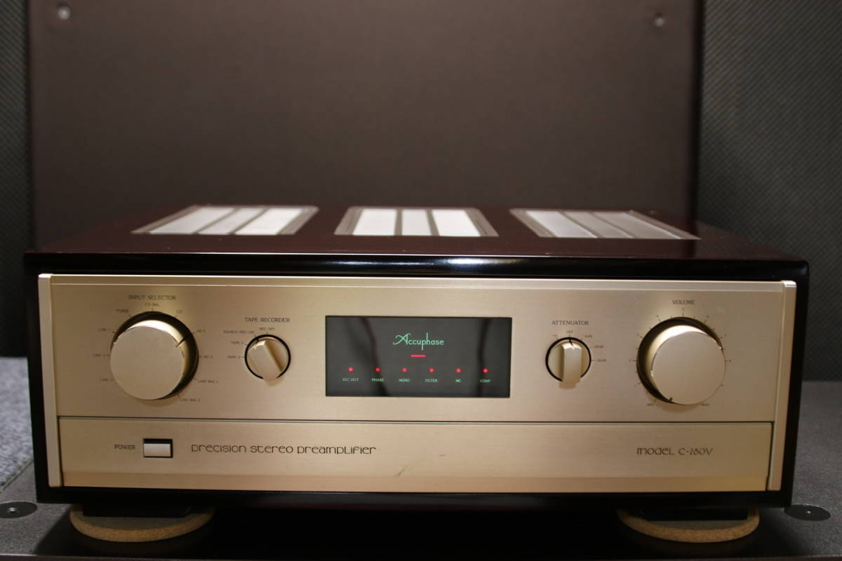 Accuphase アキュフェーズプリアンプ C-280V_画像1