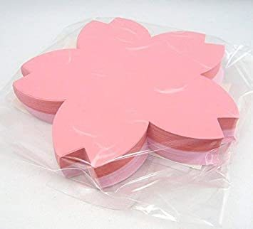 2色 100枚 【Amazon.co.jp 限定】和紙かわ澄 桜 和紙 さくらのかたち スーパーバリューパック 100枚 Aセッ_画像6