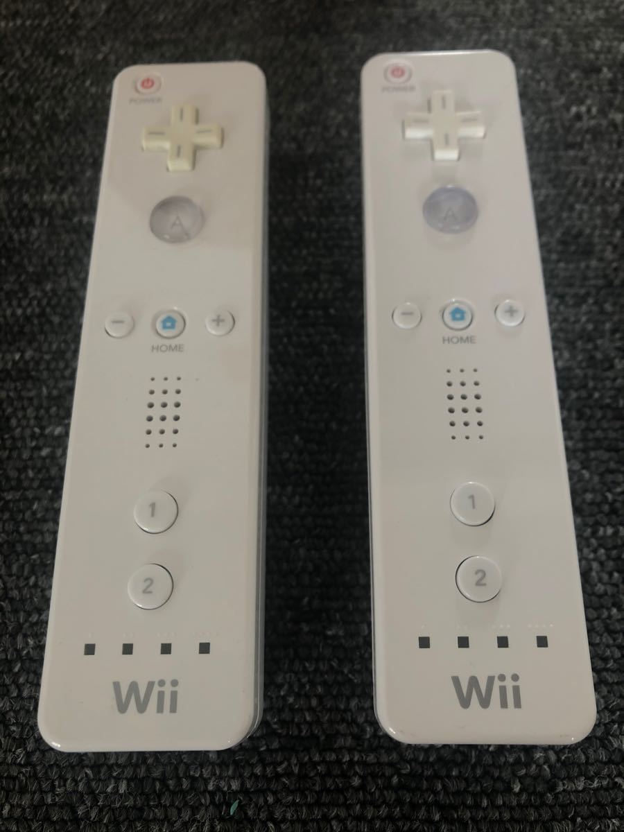 【動作確認済み 即発送】Wiiリモコン白 ニンテンドー