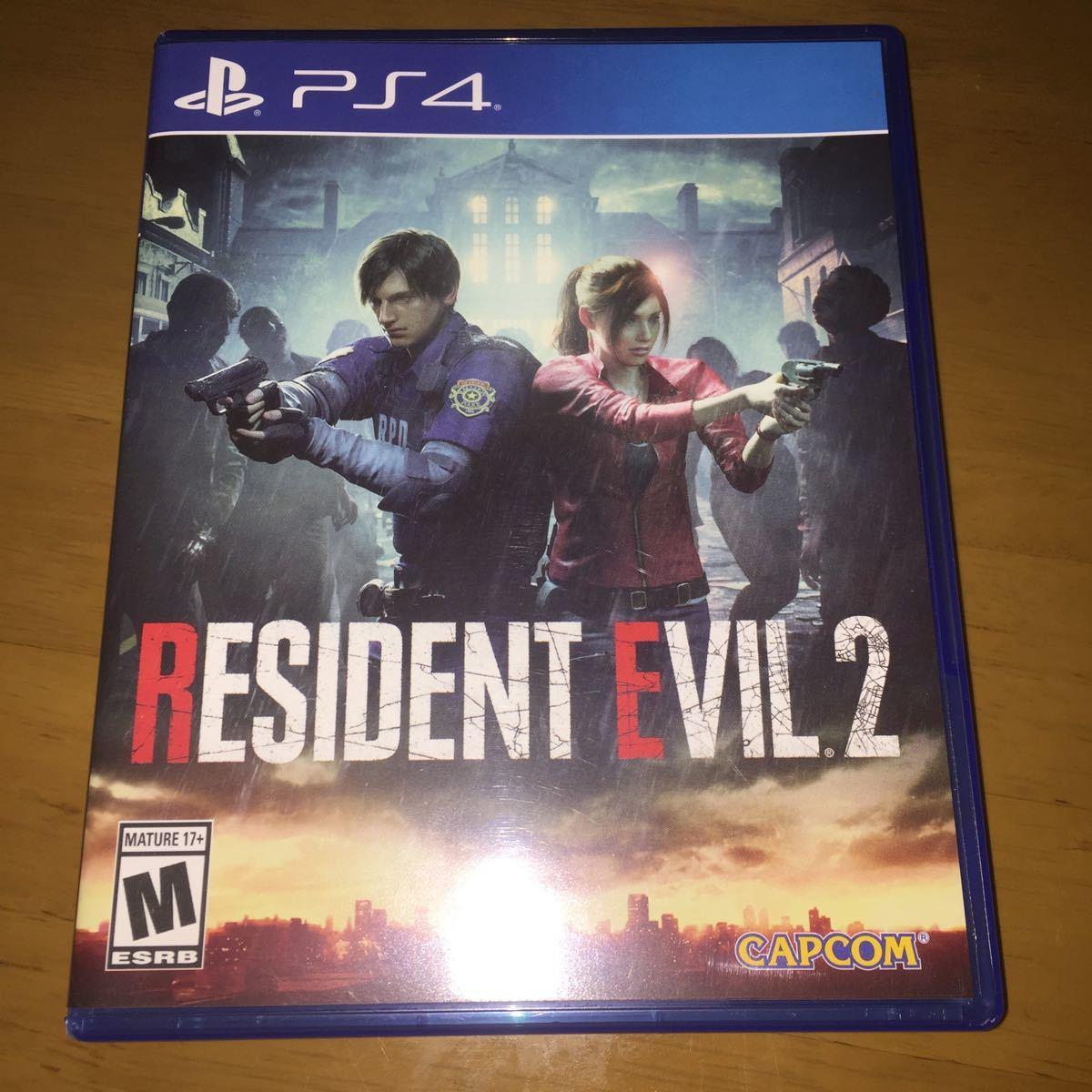 PS4 バイオハザードRE:2 北米版 RESIDENT EVIL