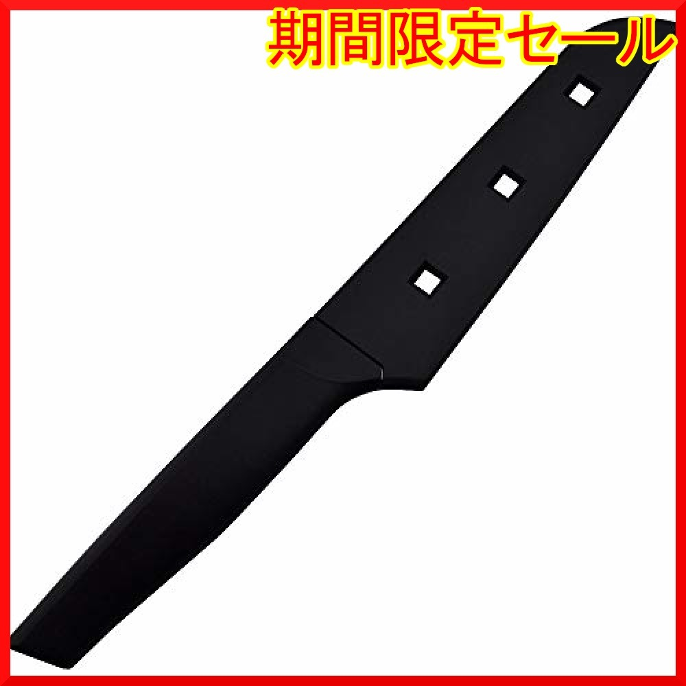 ブラック 24×3.8×1.3cm 貝印 KAI コンパクトナイフ 関孫六 サヤ 付 日本製 DH3342_画像3