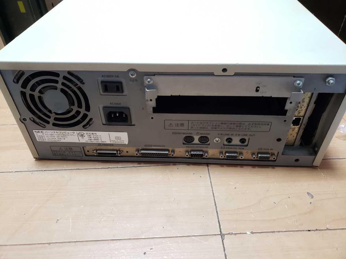 NEC PC-9821V20 ジャンク_画像2