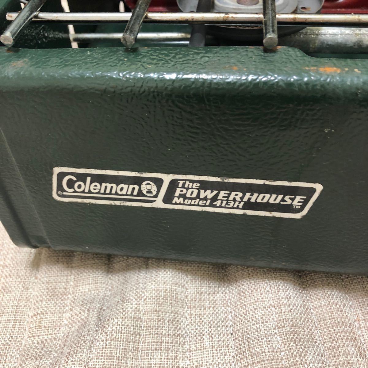 コールマン ツーバーナー ツーバーナーコンロ POWERHOUSE413 中高箱付き