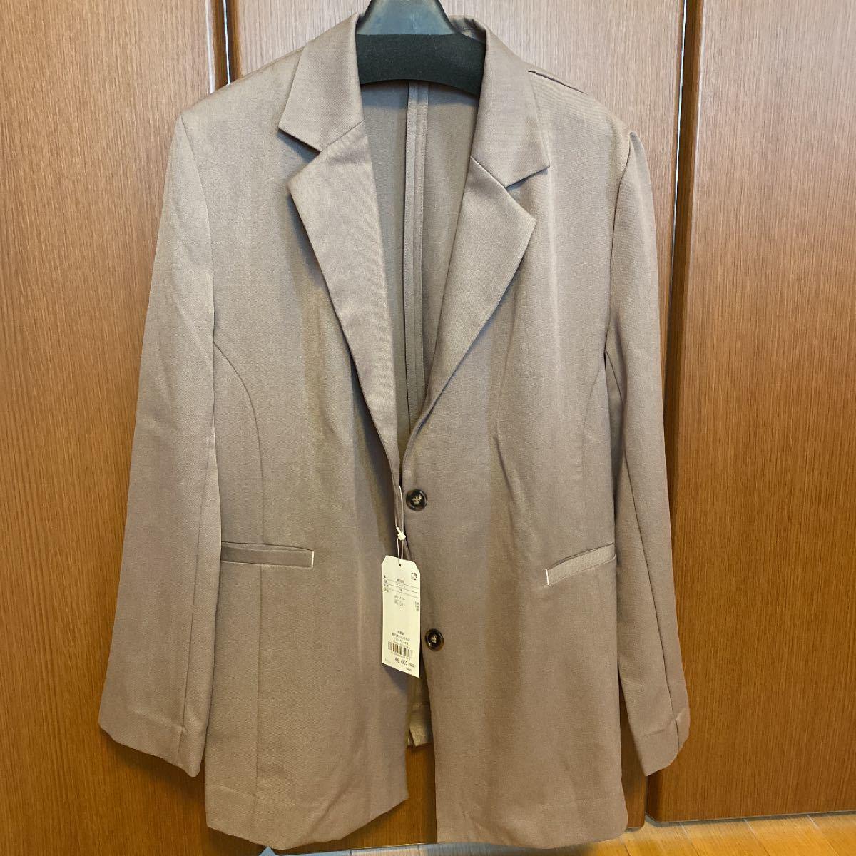 ジャケット テーラードジャケット セットアップ対応可◆配色ステッチテーラードジャケット