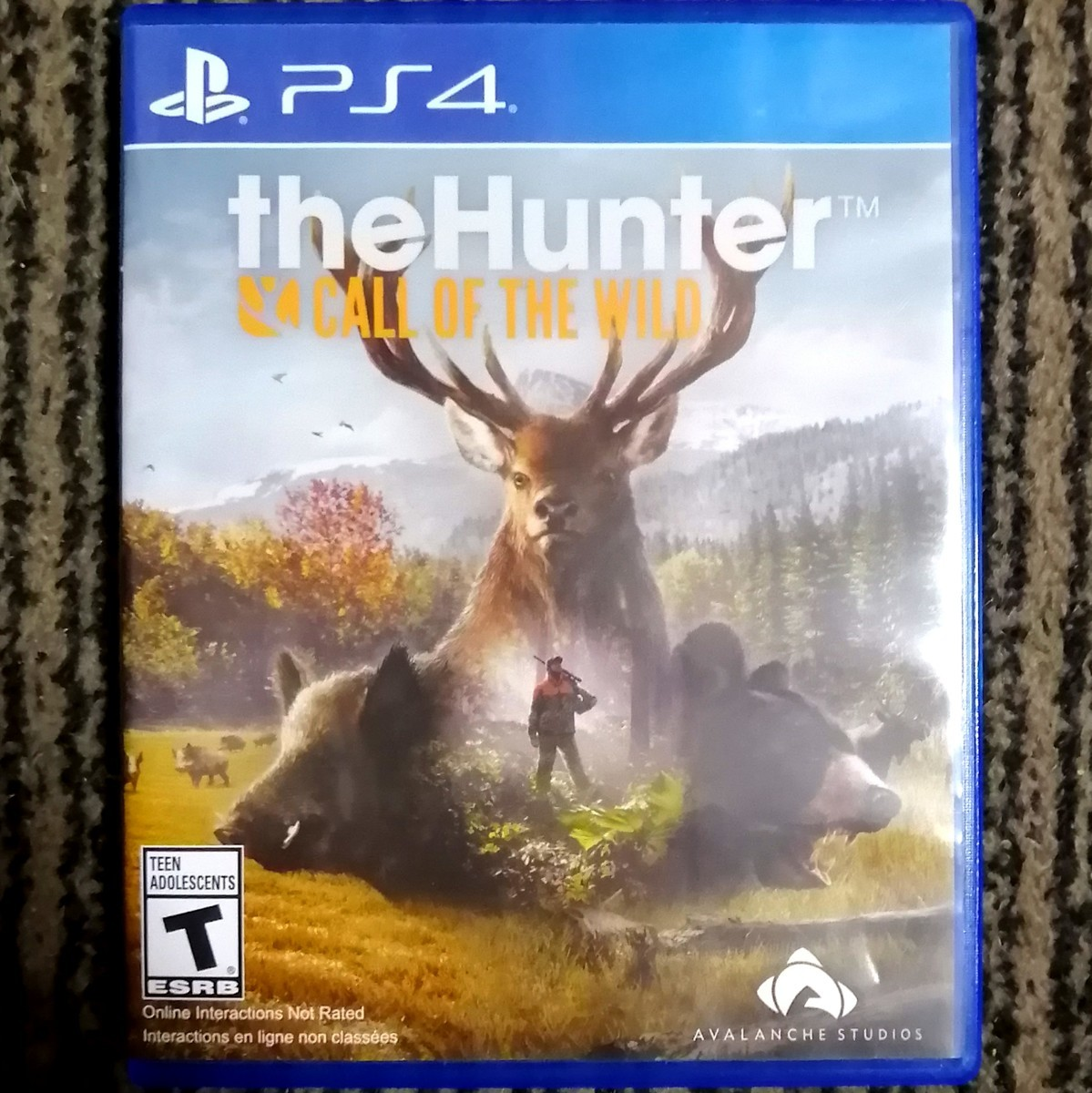 PS4 theHunter Call of the Wild
