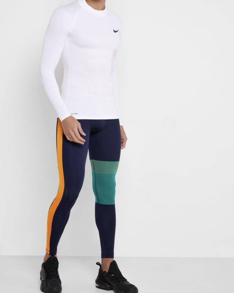 ナイキ NIKE pro メンズ L スパッツ レギンス タイツ 10分丈 フルレングス ランニング トレーニング ナイキプロ