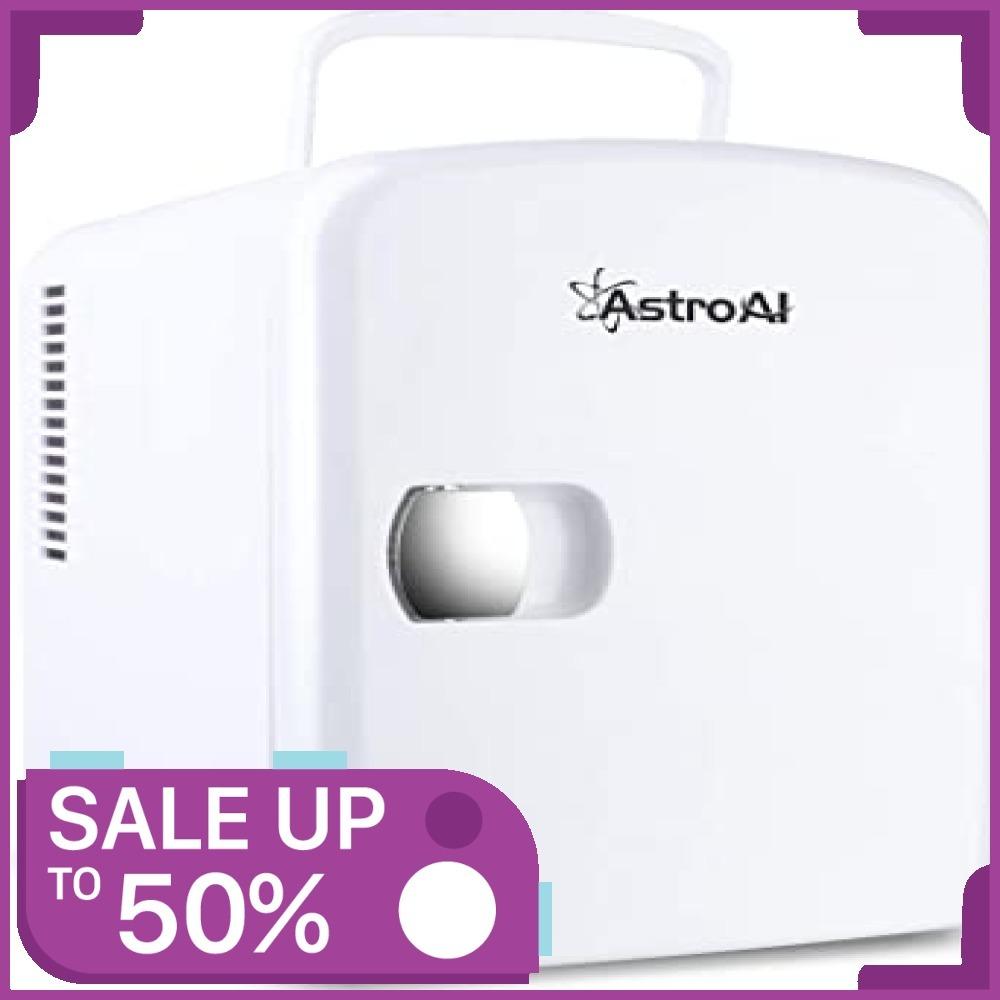 ★新品★2、ホワイト AstroAI 冷蔵庫 小型 ミニ冷蔵庫 小型冷蔵庫 冷温庫 保温 冷温庫 4L 小型でポータブ_画像1