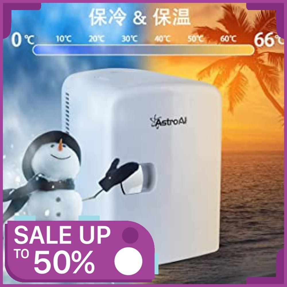 ★新品★2、ホワイト AstroAI 冷蔵庫 小型 ミニ冷蔵庫 小型冷蔵庫 冷温庫 保温 冷温庫 4L 小型でポータブ_画像3