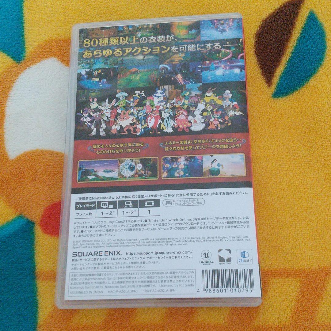 【中古品】 バランワンダーワールド  ニンテンドースイッチ Nintendo switch スクエニ