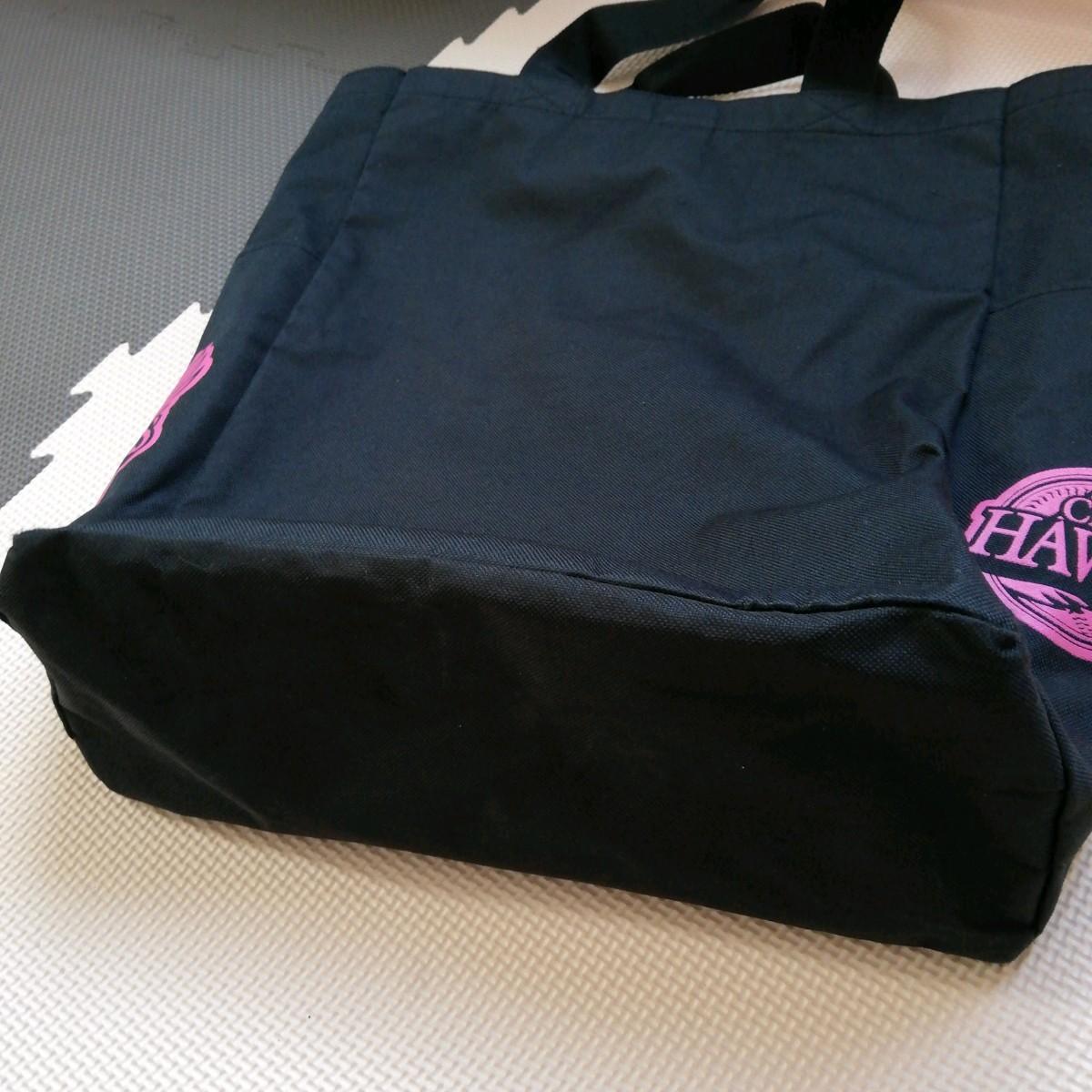 ソフトバンクホークス ファンクラブ限定トートバッグ 【おまけ】未使用のソフトバンクマーク付きマスク  エコバッグ