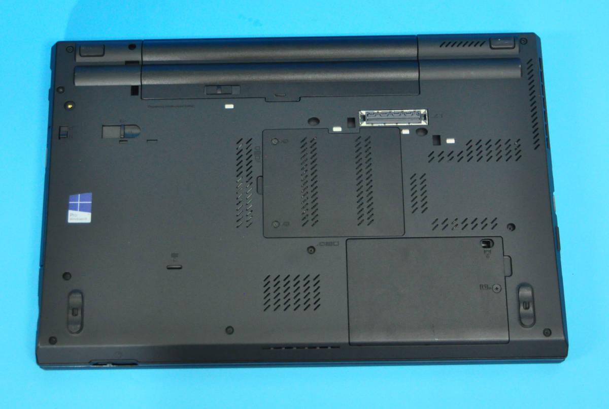 ♪メモリ16GB ! 美品 上位モデル フルHD Thinkpad T530♪ Nvidia NVS 5400M搭載 Core i7 3520M / SSD:500GB / マルチ / Office2019 / Win10_画像4