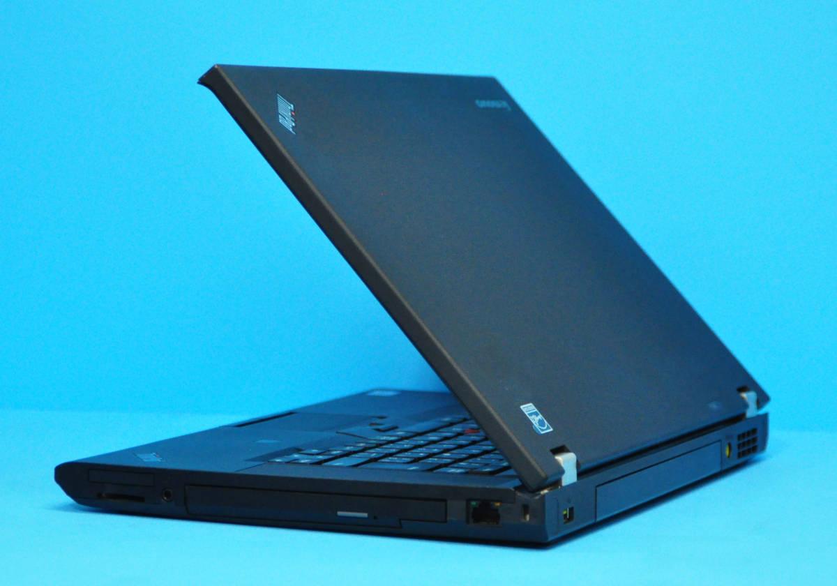 ♪メモリ16GB ! 美品 上位モデル フルHD Thinkpad T530♪ Nvidia NVS 5400M搭載 Core i7 3520M / SSD:500GB / マルチ / Office2019 / Win10_画像5