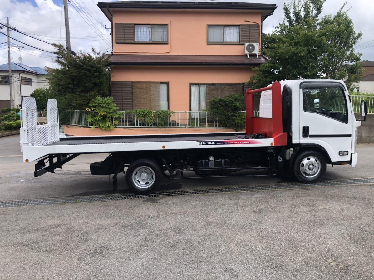 積載車セーフティローダーH20年3月 1年車検付MT6 ウィンチ付 3トン リモコン付き マツダ タイタン_画像5