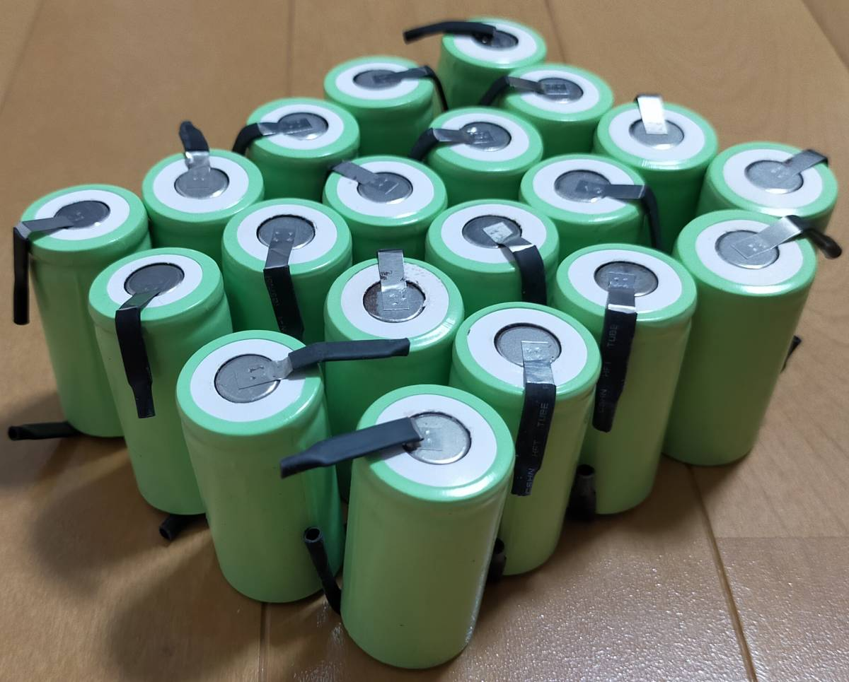 ★ニッケル水素電池 20個セット Sub C SC 22420 1.2V 2500mAh?_画像2