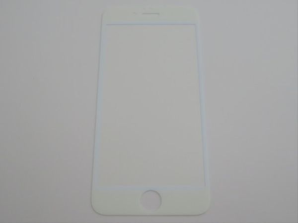 iPhone6 iPhone6s 4.7インチ 9H 0.26mm ブルーライトカット 枠白色 全面保護 強化ガラス 液晶保護フィルム 2.5D KB19_画像2